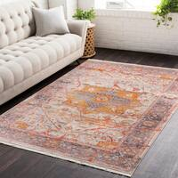 """Vintage Persian Traditional Red Area Rug - 9' x 12'9"""""""