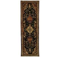 Herat Oriental Persian Hand-knotted Hamadan Wool Runner (3'3 x 9'10)