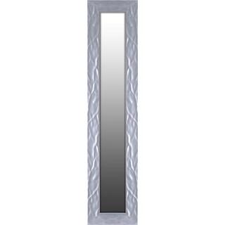Hobbitholeco Silver Wave Wall Mirror
