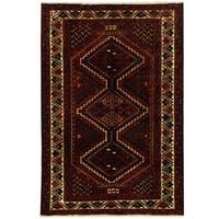 Herat Oriental Persian Hand-knotted Hamadan Wool Rug (5'9 x 8'8)