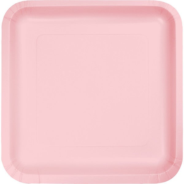 Touch of Color Square Deep Dish 9 inch Dinner Plates Classic Pink Case of 180  sc 1 st  Overstock.com & Touch of Color Square Deep Dish 9 inch Dinner Plates Classic Pink ...