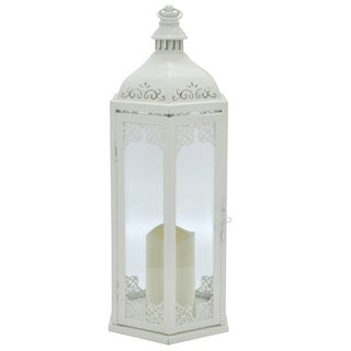 Three Hands Metal LED Candle Lantern