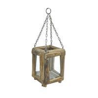 Three Hands Wood Lantern