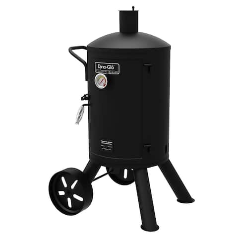 Dyna-Glo DGSS681VCS-D Signature Series Black Steel Heavy-duty Vertical Charcoal Smoker