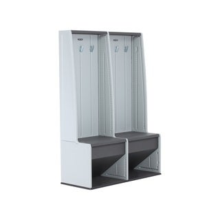 Lifetime Home and Garage Grey Plastic Storage Locker