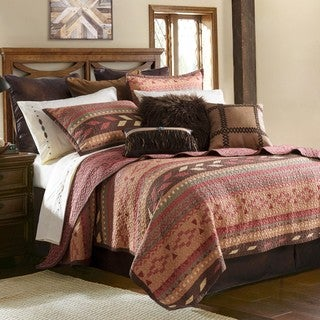 HiEnd Accents Broken Arrow Quilt Set (3 options available)