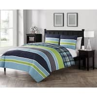 VCNY Home Dexley Reversible 3-piece Comforter Set