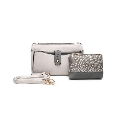 3f1655091 MKF Collection Frangelina 3-in-1 Crossbody Pouch Wallet Set by Mia