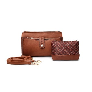 MKF Collection Frangelina 3-in-1 Crossbody/Pouch/Wallet Set by Mia K. Farrow (5 options available)