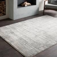 Jaden Tonal Abstract Grey Area Rug - 6'6 x 9'6