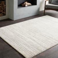 Tranquil Modern Brown/Taupe Area Rug (6'7 x 9'6)