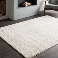 Oliver & James Chromy Modern Grey/ Taupe Area Rug - 7'10 x 10'3