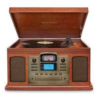 Director CD Recorder Turntable with Bluetooth- Paprika