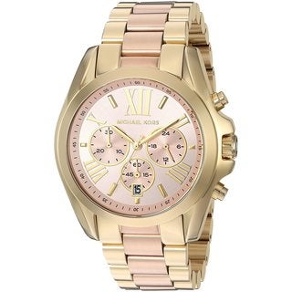 Michael Kors Women's MK6359 Bradshaw Chronograph Stainless Steel Watch