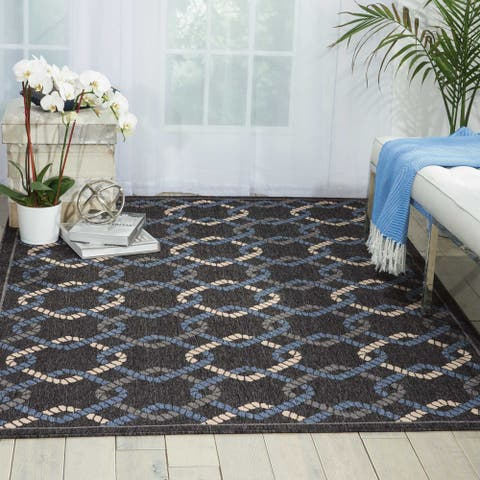 Nourison Caribbean Indoor / Outdoor Area Rug