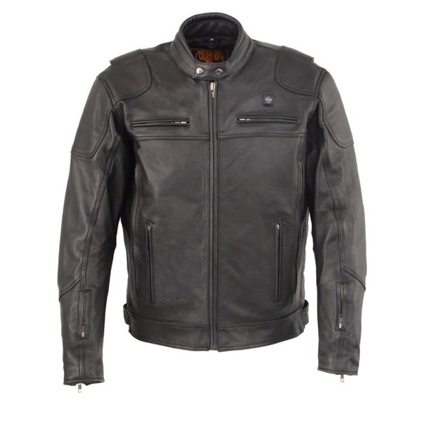 MENS VENTED SCOOTER JACKET WITH HEATED TECHNOLOGY