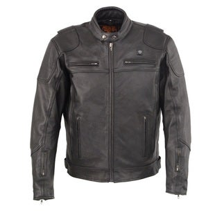 MEN'S VENTED SCOOTER JACKET WITH HEATED TECHNOLOGY