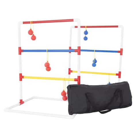 Hey! Play! Ladder Toss Outdoor Game - Multicolor - 30 x 22 x 22.75 - 30 x 22 x 22.75