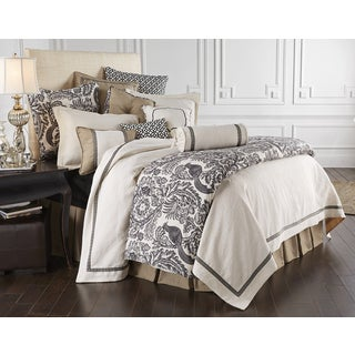 HiEnd Accents 4-Piece Augusta Matelasse Coverlet Set