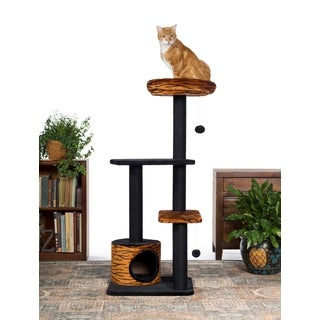 Prevue Pet Products Kitty Power Paws Tiger Cat Tower