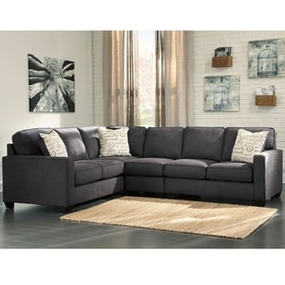 Signature Design By Ashley Alenya 3 Piece LAF Sofa Sectional In Microfiber