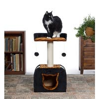 Prevue Pet Products Kitty Power Paws Tiger Hideaway Cat Tree