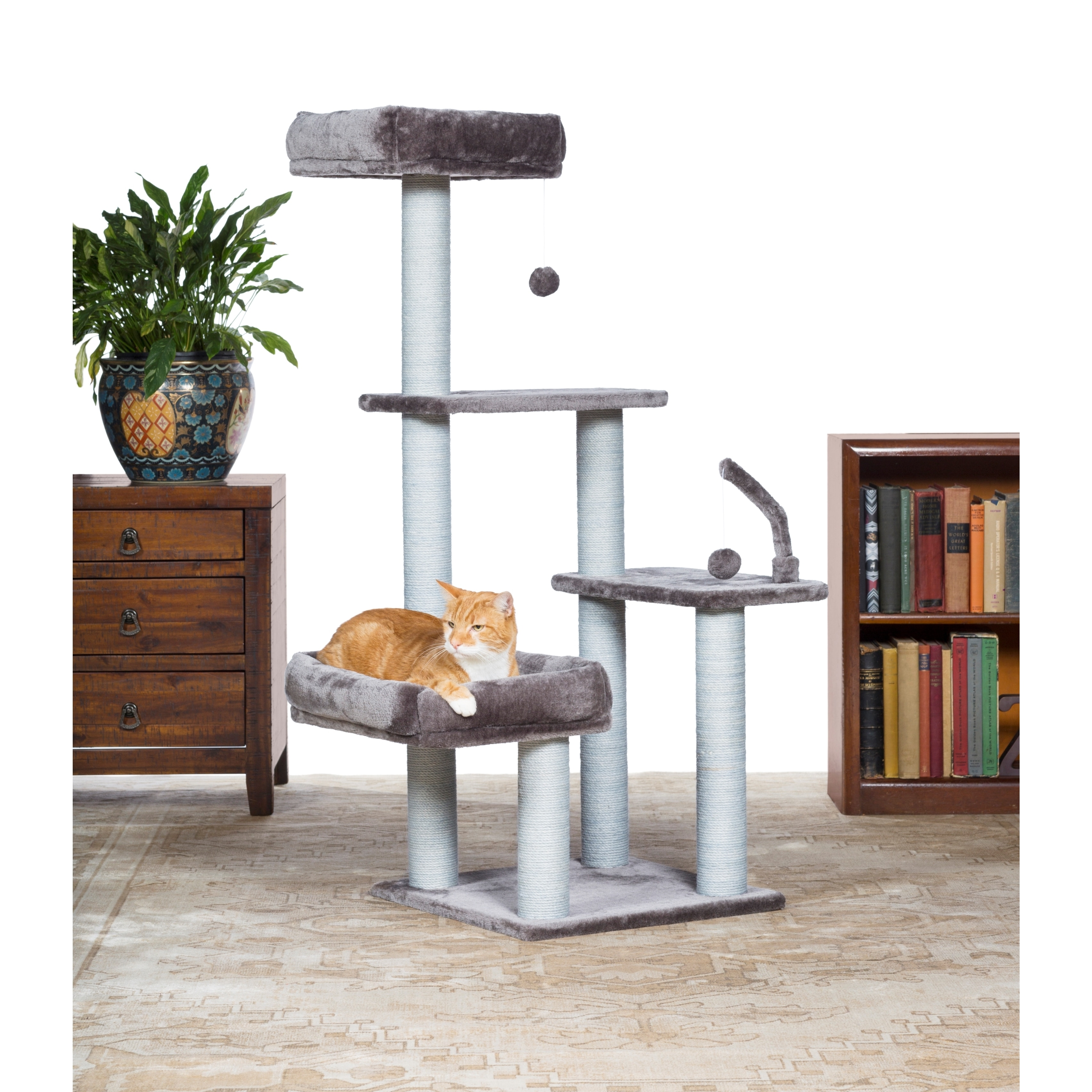 Prevue Pet Products Kitty Power Paws The Ritz Cat Tree (G...
