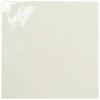 SomerTile 7.75x7.75-inch Borough Giorno Neutro Ceramic Wall Tile (25/Case, 10.76 sqft.)