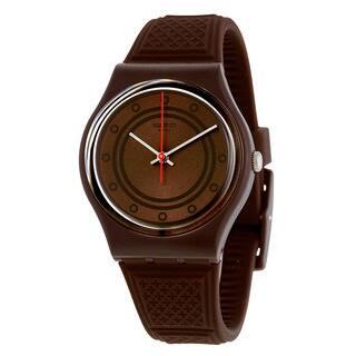Swatch Unisex GC114 'SCHOGGI' Brown Rubber Watch|https://ak1.ostkcdn.com/images/products/15950389/P22349726.jpg?impolicy=medium