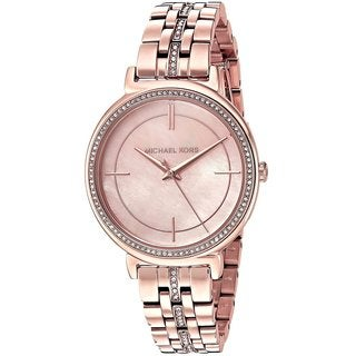 Michael Kors Women's Cinthia Rose Gold-Tone Stainless Steel Watch - GOLD