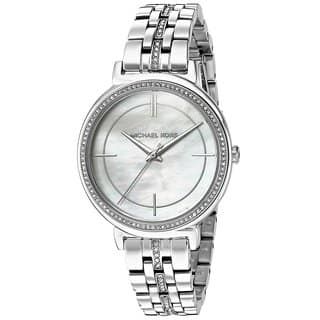 9abcb6deae0 Michael Kors Women s MK3641 MOP Dial Silver Steel Watch