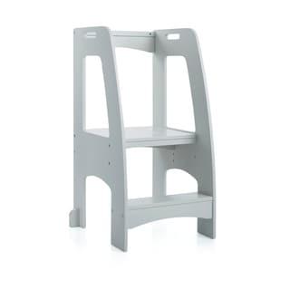 Guidecraft Step-up Kitchen Helper Grey Stepstool