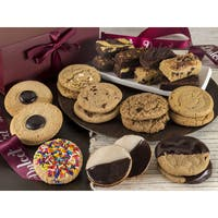 Dulcet's Festive Assortment of All Flavor Cookies and Brownies