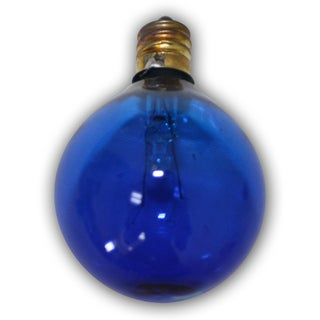Party Blue Light Bulbs - 25 pack- replacement for C7 cord. Candelbra size bulb. 5 Wattage