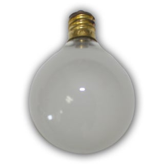 Party Frosted Light Bulbs - 25 pack- replacement for C7 cord.  Candelbra size bulb.  5 Wattage