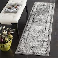 Safavieh Vintage Hamadan Traditional Grey / Black Runner (2' 2 x 8')