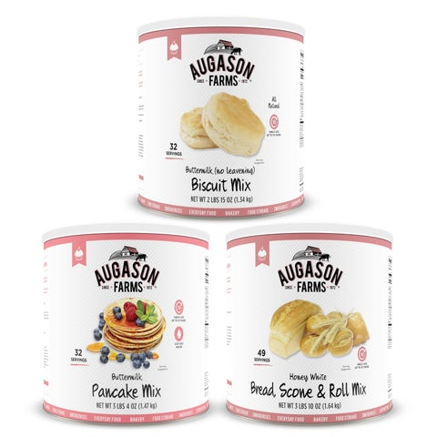 Augason Farms Bakery Food Storage Kit No. 10 Can 3 Pack