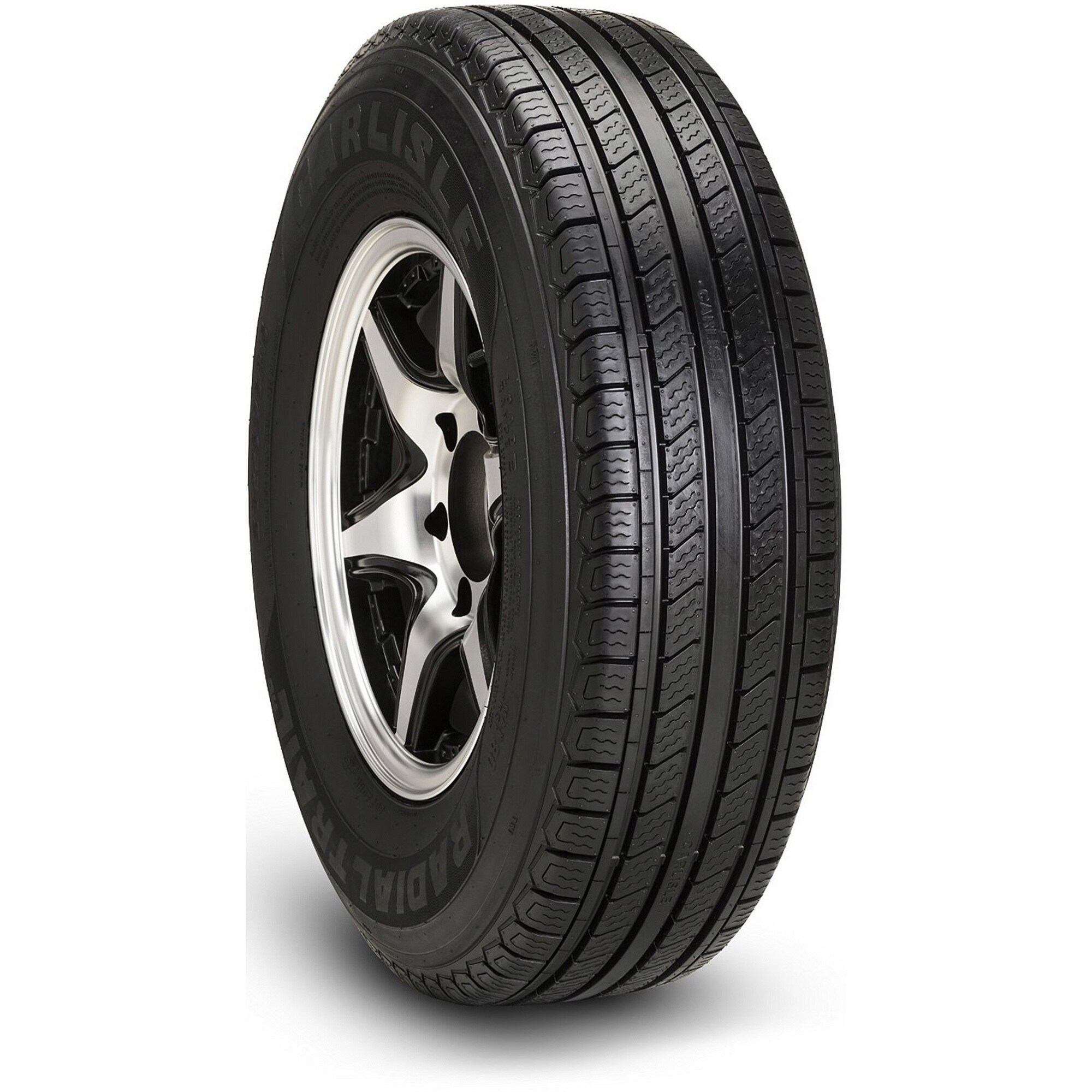 Carlisle Radial Trail HD Trailer Tire - ST175/80R13 (Black)