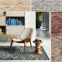 Hand-woven Fenton Earth-tone Rug - 7'9 x 9'9