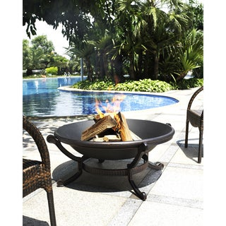 Ashland Black Steel Firepit