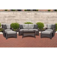 Cambridge Corolla Grey 6-Piece Lounge Set