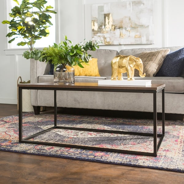 42-inch Industrial Coffee Table