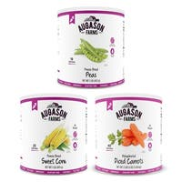 Augason Farms Vegetable Variety Kit No. 10 Can 3-Pack