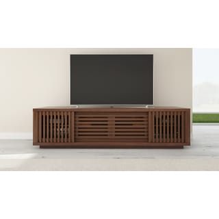 FURNITECH 82-inch American Walnut Media Console