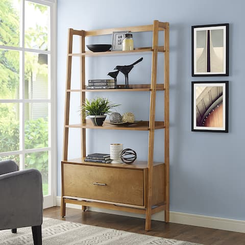 Landon Large Etagere in Acorn