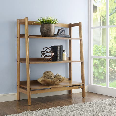 Landon Acorn Wood Bookcase