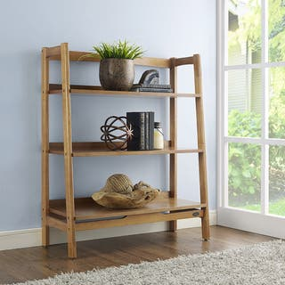 Crosley Furniture Landon Acorn Wood Bookcase|https://ak1.ostkcdn.com/images/products/15951471/P22350683.jpg?impolicy=medium