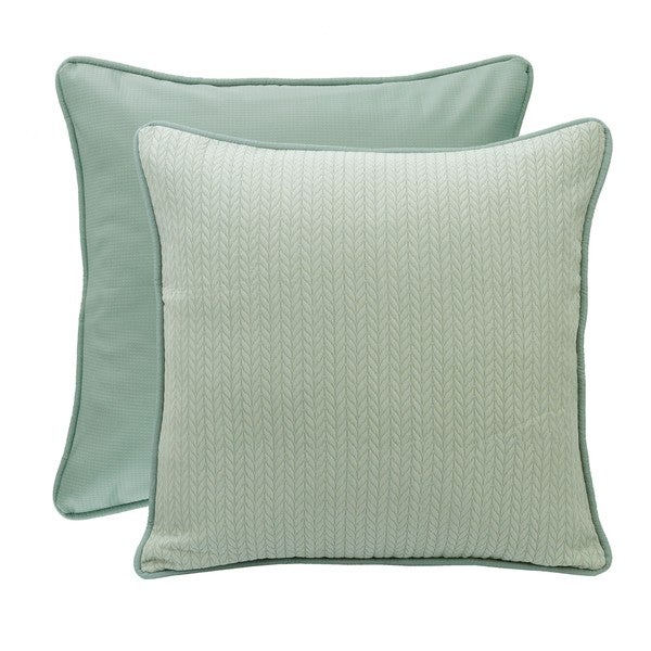 HiEnd Accents Reversible Textured Fabric Euro Sham
