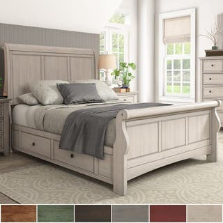 Ediline Queen Size Wood Sleigh Storage Platform Bed by iNSPIRE Q Classic|https://ak1.ostkcdn.com/images/products/15951600/P22350788.jpg?impolicy=medium