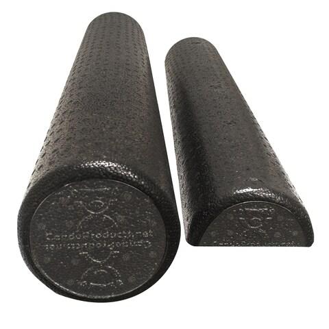 CanDo Black Composite High-Density Roller